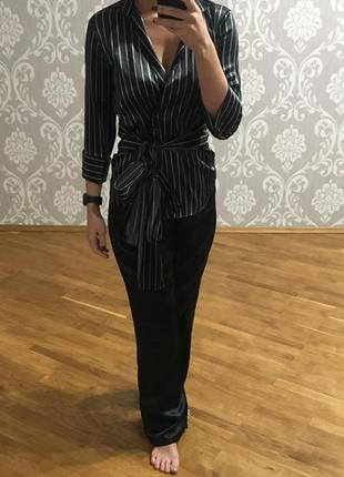 Пижама, костюм домашний атлас zara, h&m