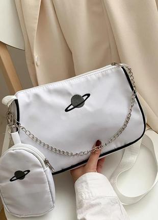 Нейлоновая сумка женская