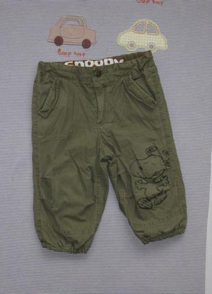 Штанишки на подкладке*штаны на 9-12 мес.