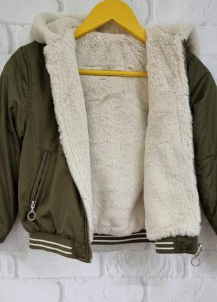 Двусторонняя  куртка для девочки primark