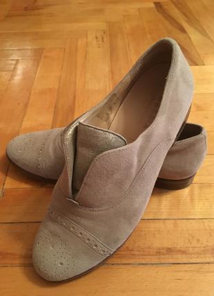 Кожаные туфли hassia premium comfort 38