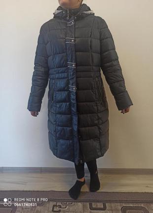 Зимова б/у куртка 56 розміру