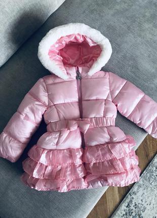 Зимова курточка 12-18м