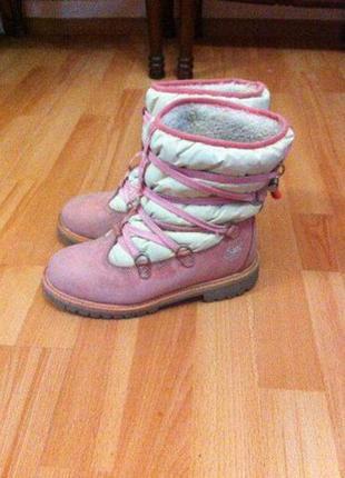 Ботинки timberland зимнее оригинал подарок