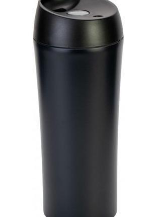 Термокружка optima термочашка desire 400 мл черная