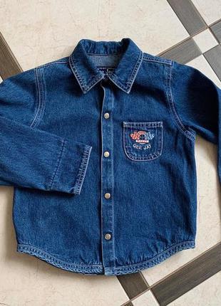 Сорочка, рубашка, джинсова сорочка, джинсовая рубашка