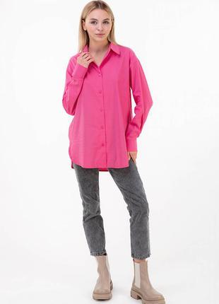 Сорочка класичного крою з невеликими розрізами / рубашка с небольшими разрезами
