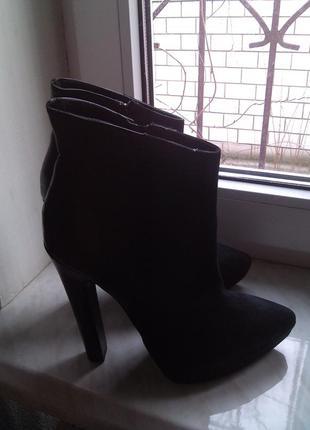 Женские итальянские  ботинки