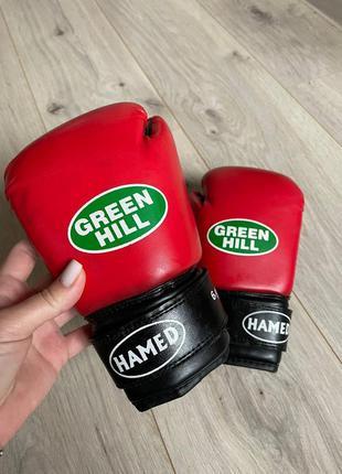 Детские боксёрские перчатки green hill р. 6 oz.