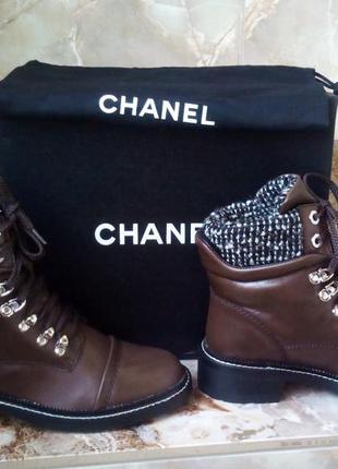 Крутые ботинки chanel