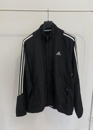 Куртка вітровка adidas чорна оригінал чоловіча