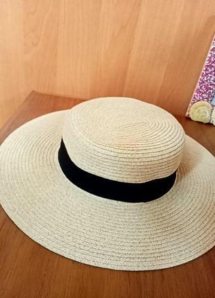 Красивая летняя шляпка