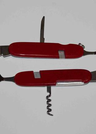 Туристический набор ложка, вилка, нож 6-in-1 type 1