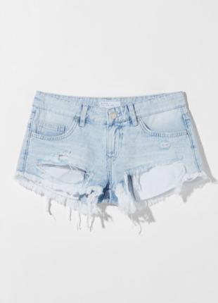 Шорты джинсовые джинс женские оригинал бершка bershka