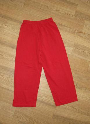Пижамные штанишки на 5-6 лет