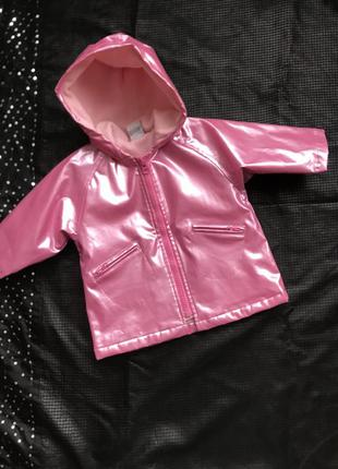 Пальто - дождевик для девочки 2-3 года