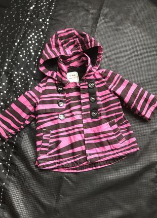Пальто для девочки 18-24 месяцев