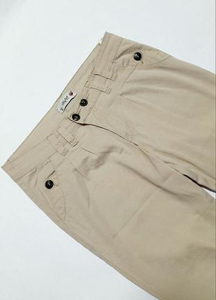 Женские брюки dilvin светлые повседневные
