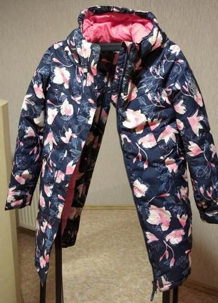 Зимняя удлиненная куртка outventure