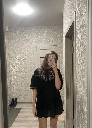 Комбинезон zara с вышивкой