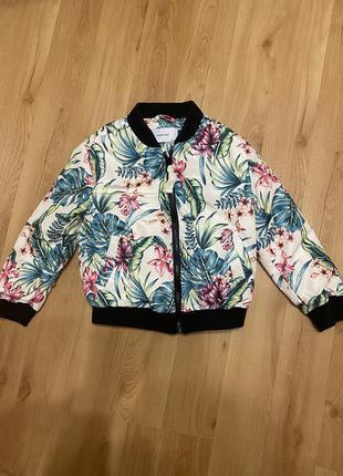 Куртка, бомпер, деми, 116 см