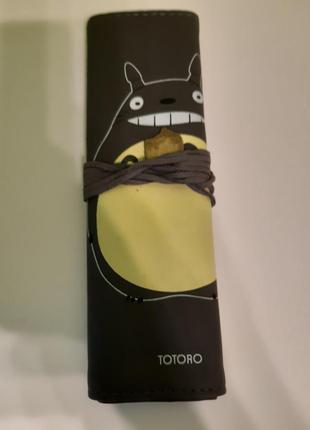 """Пенал для ручек и карандашей , аниме """"мой сосед тоторо"""" ."""