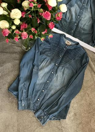 Классная джинсовая рубашка!