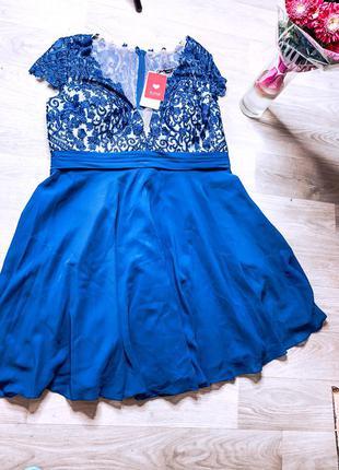 Платье , синие платье , платье новое , платье на выход