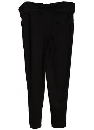 Вечерние классические брюки на запах вискоза