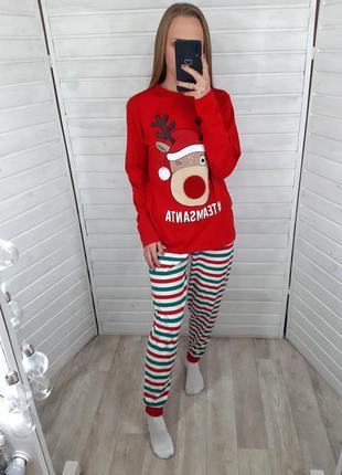 Новогодняя пижама primark