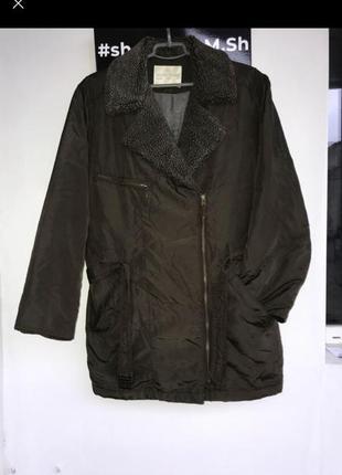 Куртка парка овер косуха