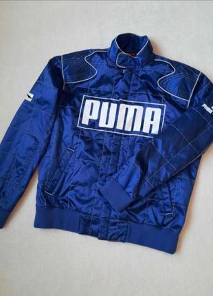 Стильна демісезонна куртка puma оригінал, розмір l