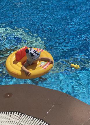 Плавательный круг для младенца fisher price