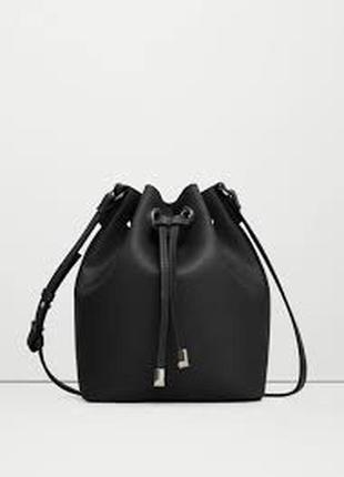 Крутая сумка-мешок mango (по типу zara/h&m/asos)