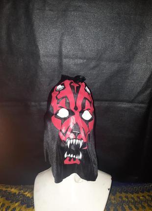 Маска на маскарад  хеллоуин дарт мол звёздные войны  star wars