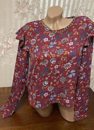 Нарядная блузка 👚💕🌺