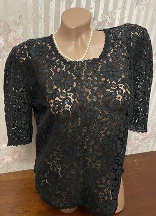 Красивая нарядная блузка 🖤❤️