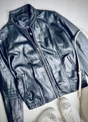 Кожаная куртка косуха натуральная кожа