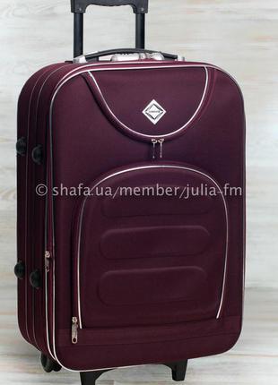 💙супер цена 💙 средний чемодан на колесах тканевый середня валіза на колесах