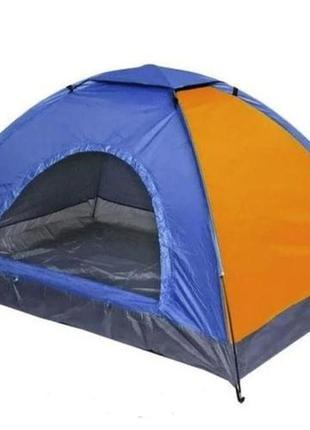 Палатка, четырех, 4, местная, 200х200х135см, туристическая