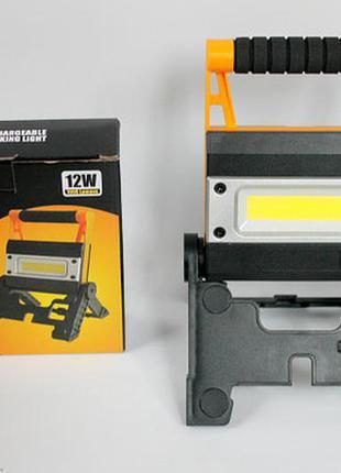 Мощный ручной фонарь прожектор bl-846 power bank светодиодный кемпинговый фонарик
