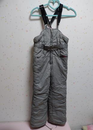 Штаны лыжные с подтяжками