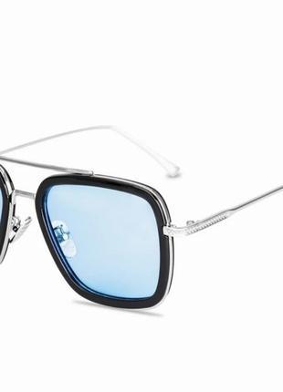 Окуляри тоні старк , чоловічі сонцезахисні окуляри, залізна людина, сонцезахисні окуляри в стилі стімпанк