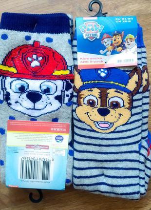 Шкарпетки щенячий патруль
