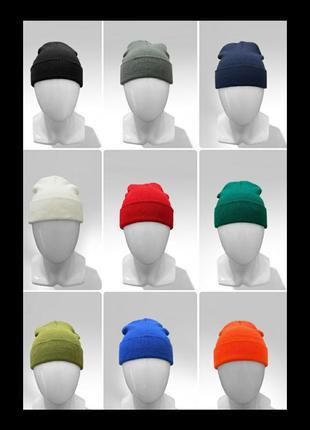 Базовая классическая зимняя шапка