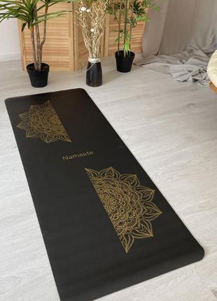 Коврик для спорта йоги каримат мат