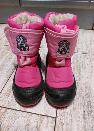 Термо-сапоги demar doggy для девочки