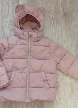 Пудровая куртка h&m