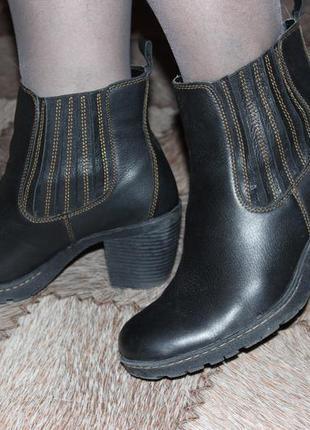 Шикарные ботильёны ботинки b.о.с. born concept демисезон р.42