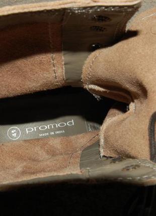 Сапоги promod натуральная кожа состояние новых 41 размер5 фото